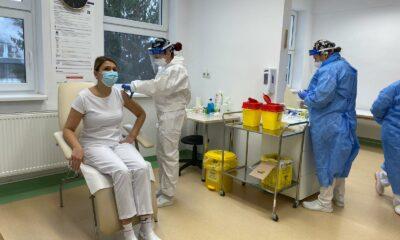 Dr. Violeta Briciu, primul clujean care s-a vaccinat anti-COVID